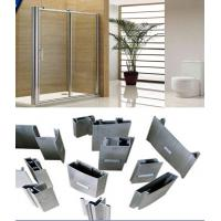 China Alloy 6000 T3- T8 Silver Polished Aluminium Extrusion Profiles For Shower Room Applicaton wholesale