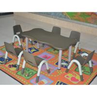 China New Design Children Plastic Furniture HDPE Material Adjustable Tables wholesale