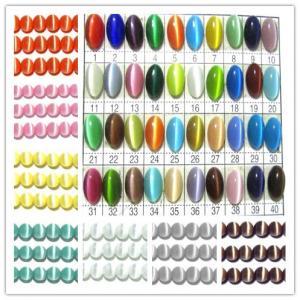 8-16mm Mix Styles Colorful Semi Precious Gem Beads, Round Cat Eye Beads