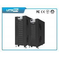 China Black Low Frequency Online Ups Uninterruptible Power Supply Three Phase Input And Three Phase Output wholesale