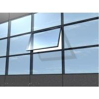 China Double Aluminium Building Glass Curtain Wall Reflective For  Household wholesale