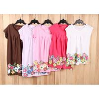 China child brand clothes-6000 pcs cheap Children & kid's Girl Casual tops Tee dress stock lots on sale