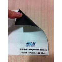 China Projection screen fabric, black backing 1.85-3.2m wholesale