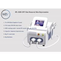 China 3000W SHR OPT Device For Hair Removal , Wrinkle Removal 8.4 Inch TFT Screen wholesale