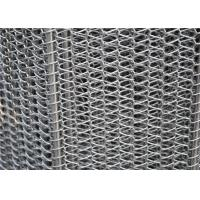 Buy cheap 304 316 316L 430 310 Stainless Steel Wire Mesh Conveyor Belt With Chian Alkali Resistant from wholesalers