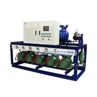 China R404a Bitzer piston type refrigeartion compressor unit for 2℃ fruit cold storage wholesale