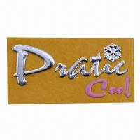 China Customized Soft Self-adhesive Nameplate, Ideal for Decoration wholesale