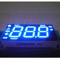 China Blue Color Custom LED Display , Triple  Digit 7 Segment LED Display For Refrigerator wholesale