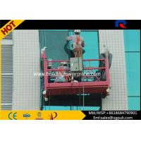 China Customized Aluminum Alloy Suspended Working Platform For Construction Building wholesale