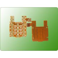 China Immersion Gold PCB Flexible Printed Circuit Board For Mobile Keypad wholesale