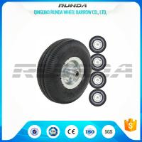China Smart Balance Pneumatic Trolley Wheels PP Rim Diamond Pattern 20mm Inner Hole wholesale