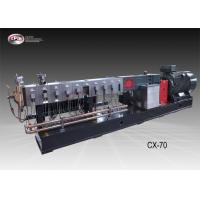 China Automatic Plastic Extrusion Equipment / 70mm Twin Screw Extruder Machine wholesale