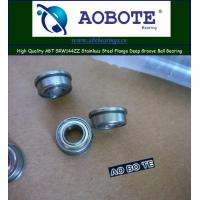 Quality Single Row Deep Groove Ball Bearing ABT SRW144ZZ , ABEC-5 for sale