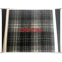 "China Yarn Dyed Flannel Plaid Thin Tartan Wool Fabric Cuttable Width 58"" 230G/M2 wholesale"
