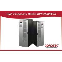 China ECO - Friendly 20, 60, 80 KVA 3 Phase in / out High Frequency Online UPS, 380 / 400 / 415V on sale