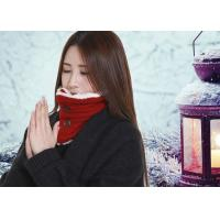 China DC5V Battery Operated Heated Scarf With Power Bank Button Design Removable wholesale