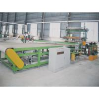 China Horizontal Rubber cutting machine , Manual Or Automatic Fixed Length Way wholesale