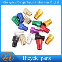 China High Quality 6061 T6 Aluminum Alloy Knurled Presta to Schrader Adapter on sale