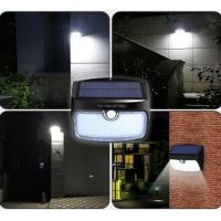 China 28 LEDs Split Type LED Solar Power Light Three-in-one Switch Mode Human Body Induction Outdoor Garden Waterproof Lights wholesale