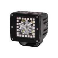 China 3.2 Inch 12w RGB Offroad Led Work Light , 12V 24V LED Work Light ATV SUV Mine Boat Lamp 4WD wholesale