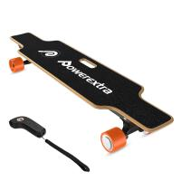 China Remote Control Outdoor Leisure Products , 4 Wheels Electric Longboard Skateboards wholesale