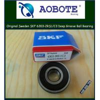 China Deep Groove Ball Bearing Low Vibration Single Row SKF 6303-2RS1/C3 wholesale