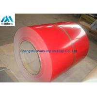 China Customized Color Coated Steel Coil JIS DX51D SGCC Q235 60 - 80 Degrees Gloss wholesale