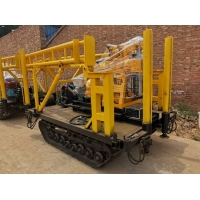 China Easy Move 15kw Crawler Mounted Drill Rig For Soil Testing SPT Drilling wholesale