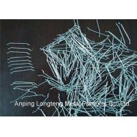 Wholesale Crack Resistance Concrete Steel Fibers Bright / Clean / Smooth Surface Treatment from china suppliers