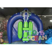 China 3 x 3M Inflatable Flying Manta Ray Fish Water Sport Game EN15649 wholesale