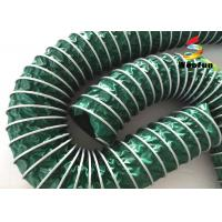 China Portable Spiral PVC High Temperature Flexible Hose Lightweight Customized on sale