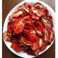 Quality Half Cutted Size Air Dried Tomatoes Dehydrated Vegetable Powder Red Color for sale