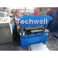 China Iron Sheet Metal Roof Cold Roll Forming Machine With Manual Uncoiler Machine wholesale