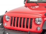 China ABS Plastic Jeep Wrangler Eagle Eye Grill Custom Size Maintenance Free wholesale