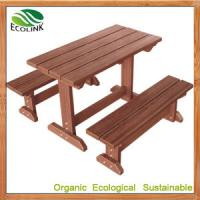 China Chinese WPC Picnic Table Set for outdoor furniture wholesale