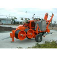 Buy cheap Cable Stringing Equipment Hydraulic Cable Puller Winch 220KN Capacity from wholesalers