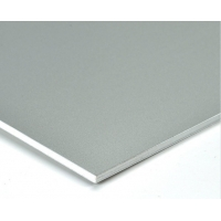 China Silver 5mm Fire Rated Core 1220*2440mm ACM Sign Panels wholesale
