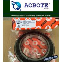 China Deep Groove FAG Ball Bearings Single Row 6020 2RSR ABEC 5 wholesale