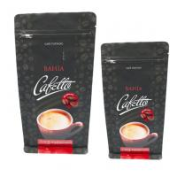 Buy cheap Custom Printed Stand Up Pouches For Coffee / Tea With Zipper , 20-200micron Thickness from wholesalers