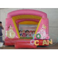 China Kids Pretty Inflatable Princess Theme Jumping Arch Bounce House For Sale wholesale
