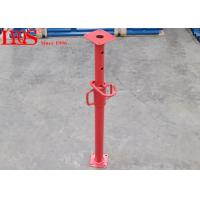 China High Strength Adjustable Shoring Posts Anti - Rust With Red Coating wholesale