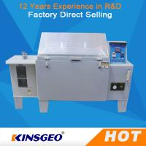 China SO2 Gas Salt Spray Test Machine , Salt Fog Test Chamber With PID Controller wholesale