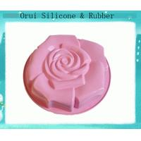 China Non-toxic 3D silicone molds for cake or sweets baking wholesale