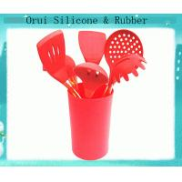China New arrival full  set food grade silicone  kitchen utensils wholesale