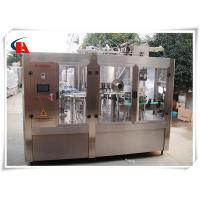China High Precision Automatic Bottle Washing Filling And Capping Machine 7.5KW Power wholesale
