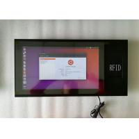 China 400 Nits Brightness 10MM Industrial Touch Panel PC 15.6 Inch With 3G RFID Module wholesale