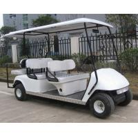 China gas golf cart 4+2seater wholesale