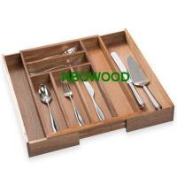 China Wooden cutlery trays on sale