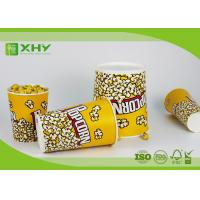 China Colorful Design Custom Disposable Paper Buckets For Popcorn And Fried Chicken Drumstick wholesale