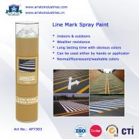 China Acrylic Aerosol Line Mark Floor / Road Marking Spray Painting 750ml Weather Resistance wholesale